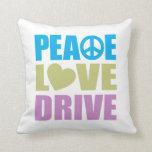 Peace Love Drive Pillows