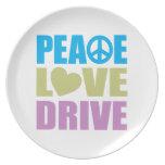 Peace Love Drive Plate