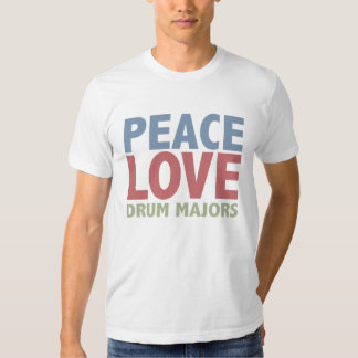 Peace Love Drum Majors Tees