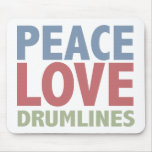 Peace Love Drumlines Mouse Pad