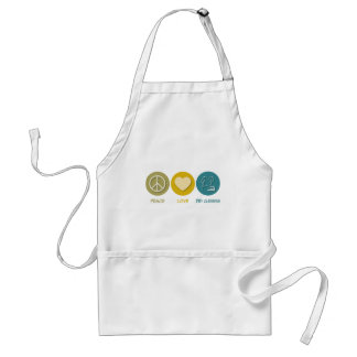 Peace Love Dry Cleaning Adult Apron