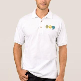 Peace Love Drywall Polo Shirts