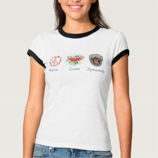 Peace, Love & Dynamite T-Shirt