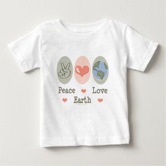 Peace Love Earth Baby T-shirt