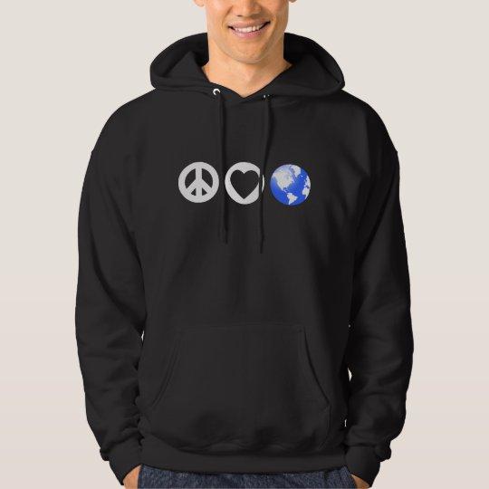 Peace Love Earth Hoodie