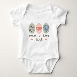 Peace Love Earth Infant Creeper