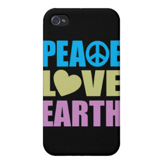 Peace Love Earth Case For iPhone 4