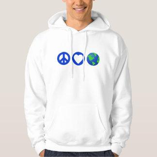 Peace Love Earth Pullover