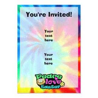 Peace, Love, Easter 5x7 Paper Invitation Card