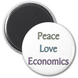 Peace, Love, Economics Magnet