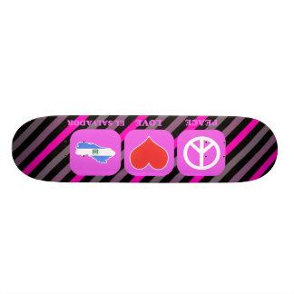 Peace Love El Salvador Skate Decks