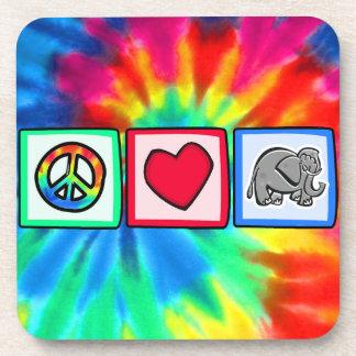 Peace, Love, Elephants Coaster
