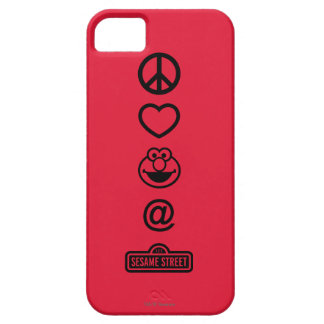 Peace Love Elmo iPhone SE/5/5s Case