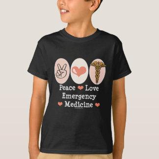 Peace Love Emergency Medicine Kids T shirt