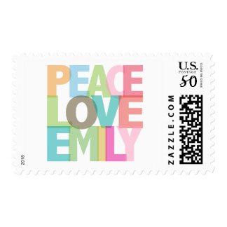 Peace Love Emily Personalized Tees & Gifts Postage