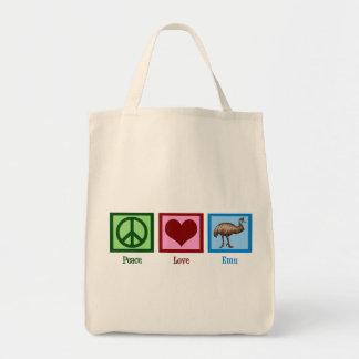 Peace Love Emu Bag