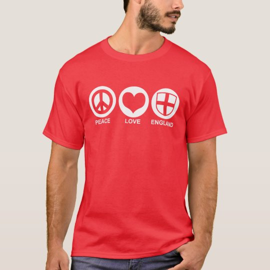 Peace Love England T-Shirt