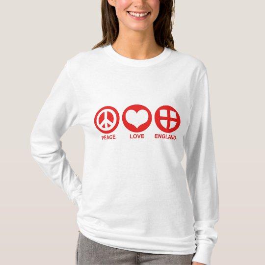 Peace Love England T-Shirt