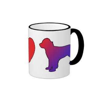 Peace Love English Springer Spaniels Mug