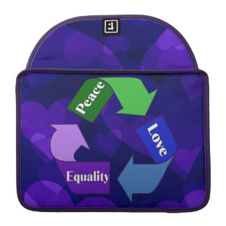 Peace Love Equality MacBook Pro Sleeves
