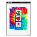 Peace, Love, Equestrian Skins For iPad 3