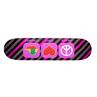 Peace Love Ethiopia Skate Boards