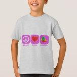 Peace Love Ethiopia T-Shirt