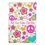 Peace Love & Everything Girly - Custom Case iPad Mini Cover