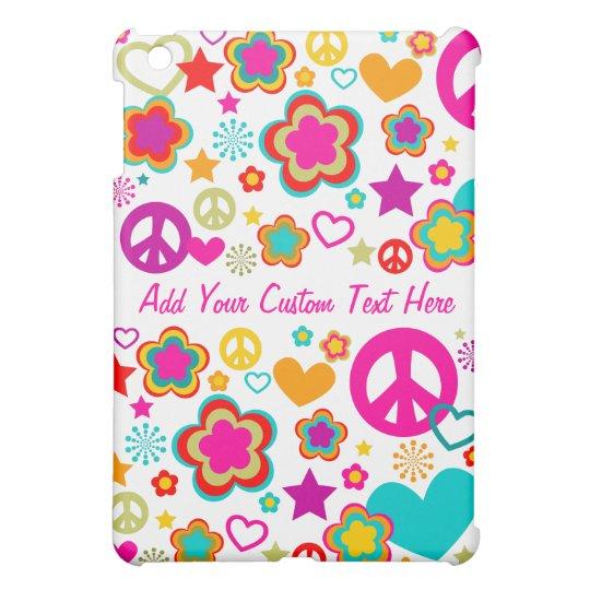 Peace Love & Everything Girly - Custom Case iPad Mini Cover