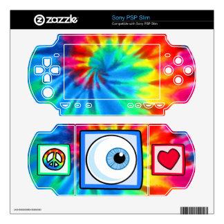 Peace Love Eyeball Sony PSP Slim Decals