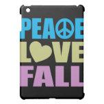 Peace Love Fall iPad Mini Case