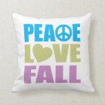 Peace Love Fall Pillow
