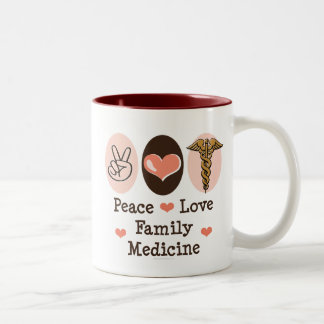 Peace Love Family Medicine Mug
