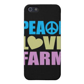 Peace Love Farm Cover For iPhone SE/5/5s