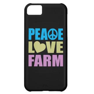Peace Love Farm iPhone 5C Case