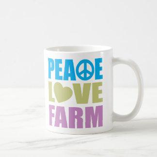 Peace Love Farm Mug