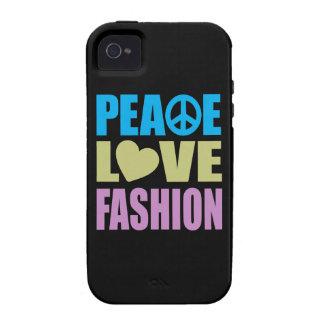 Peace Love Fashion Vibe iPhone 4 Cases