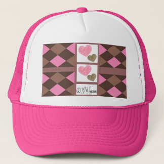 Peace, Love, Fashion Trucker Hat