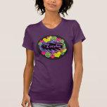 Peace Love Fastpitch Softball T-shirt