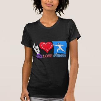 PEACE LOVE FENCE T-Shirt