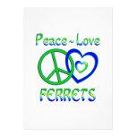 Peace Love Ferrets Announcements