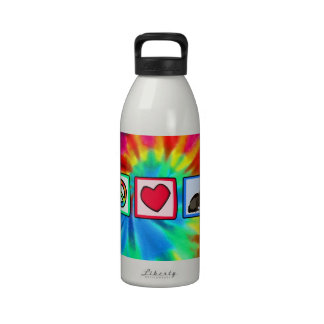 Peace, Love, Ferrets Reusable Water Bottle