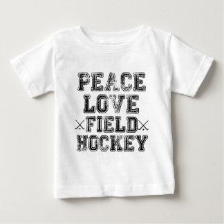 Peace, Love, Field Hockey Baby T-Shirt