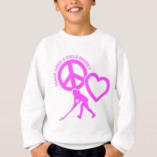 PEACE-LOVE-FIELD HOCKEY SWEATSHIRT