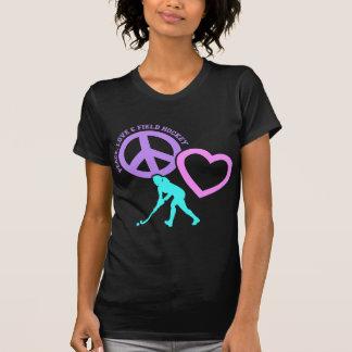 PEACE-LOVE-FIELD HOCKEY T-Shirt