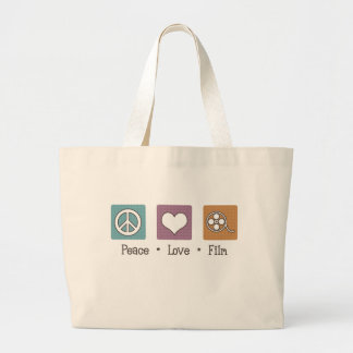 Peace Love Film Bag