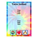 Peace, Love, Fire Invite