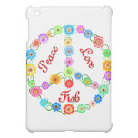 Peace Love Fish iPad Mini Cover