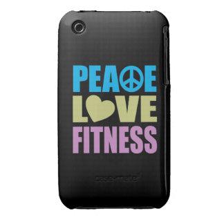 Peace Love Fitness iPhone 3 Case-Mate Case