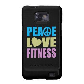 Peace Love Fitness Galaxy S2 Case
